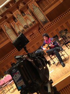 Canizares for NHK Television