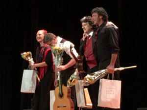 At the end of concert of Canizares