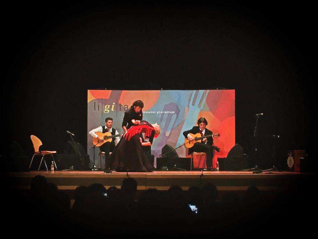 Canizares Flamenco Quartet in Liechtenstein