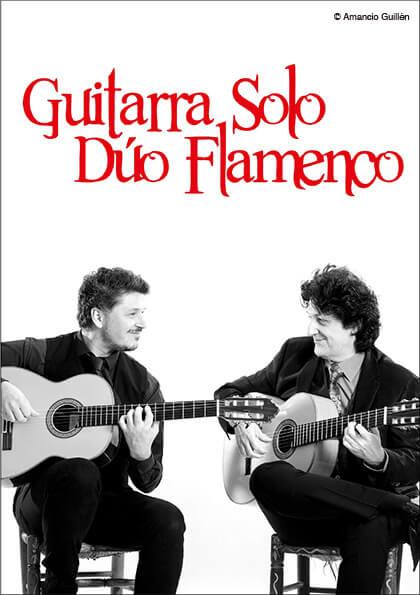 Guitarra Solo Dúo Flamenco Espectáculo Cañizares