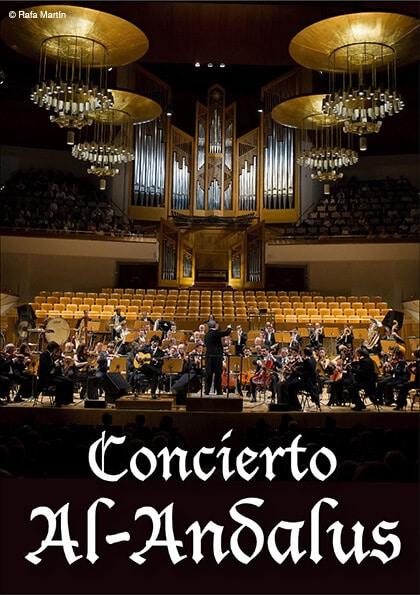 Guitarrista Cañizares Concierto Al-Andalus con orquesta