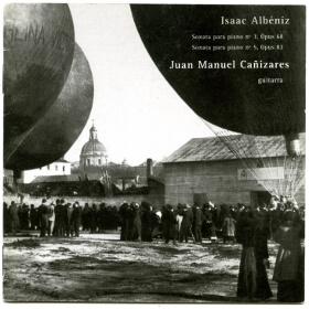 Original Transcripcion Albéniz - Cañizares guitarra
