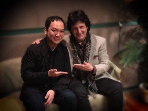 classical guitarist Daisuke Suzuki as an interviewer