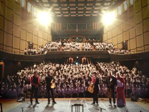 Cañizares gives a lecture and a flamenco concert for Japanese students