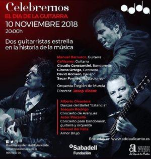 """Cañizares Performs in the """"Día de la Guitarra"""" special concert in Alicante"""