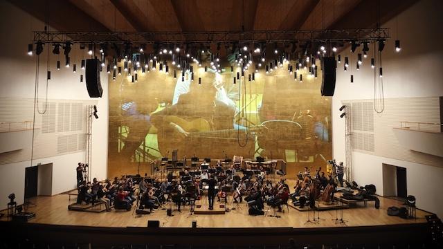 Ensayo del Concierto de Aranjuez en ADDA(9 de Noviembre de 2018