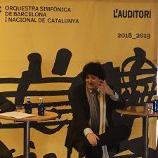 Rueda de prensa para el estreno mundial del Concierto Mediterráneo