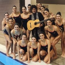 Cañizares will compose the music for the Spanish national artistic swimming team in the Tokyo 2020 Olympic Games