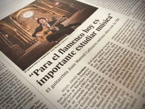 Noticias prensa Concierto Mediterráneo Cañizares