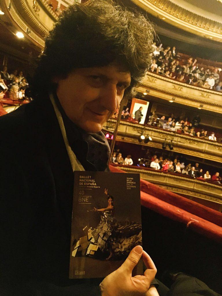 Cañizares estreno Ballet Nacional de España 40 aniversario