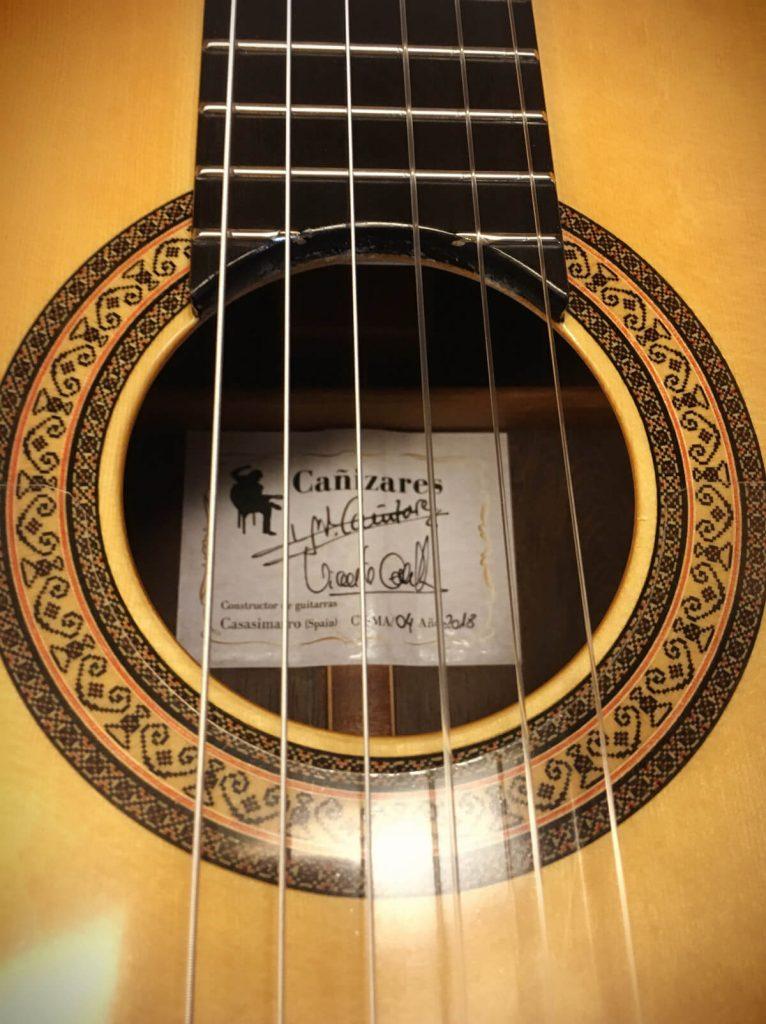 Guitarra Modelo Cañizares