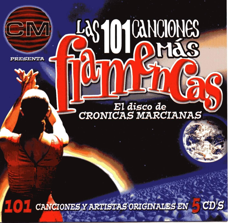 LAS 101 CANCIONES MÁS FLAMENCAS