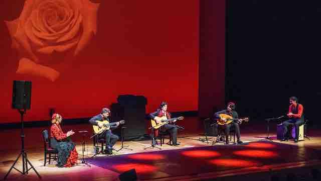 Cañizares Flamenco Quintet Gira Japón