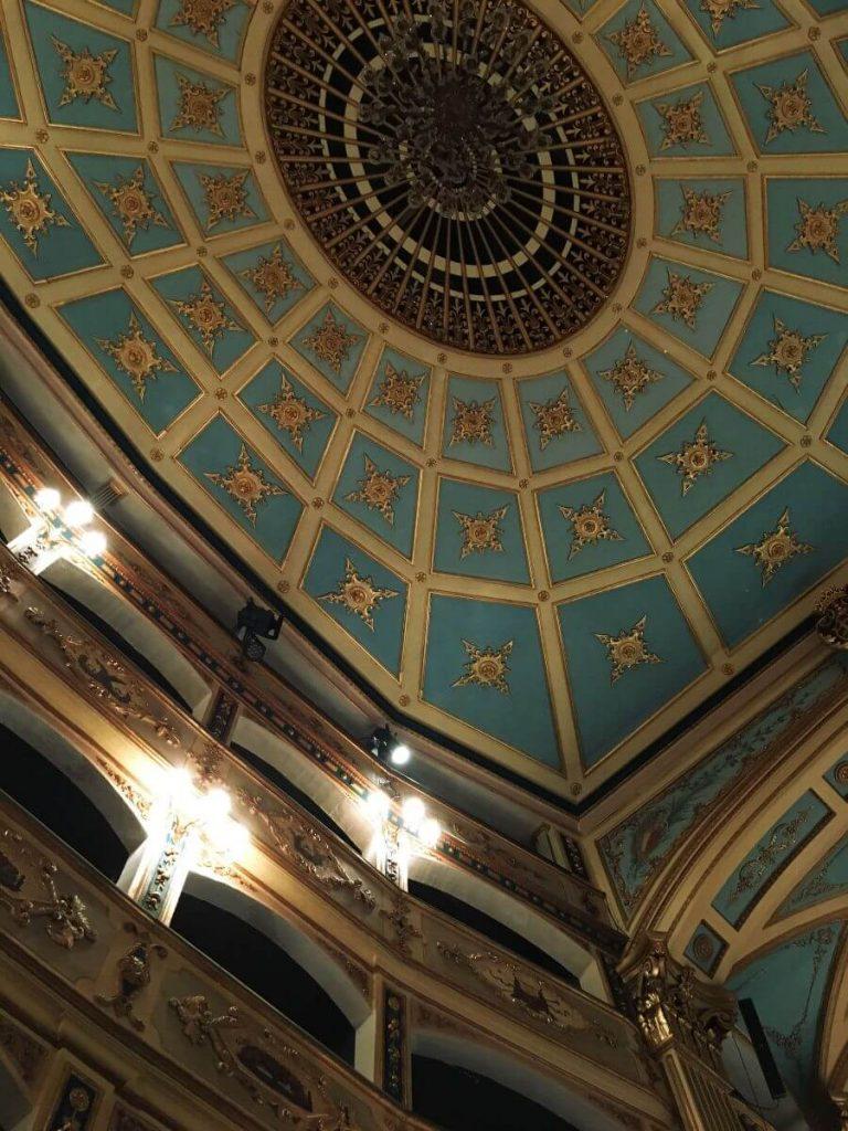 Interior Teatro Manoel en Malta