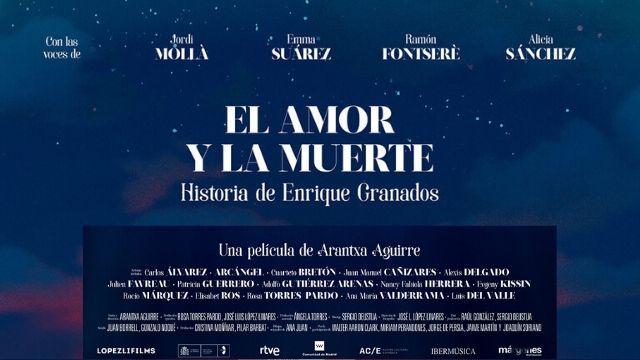 """Cañizares """"El Amor y la Muerte - Historia de Enrique Granados"""""""