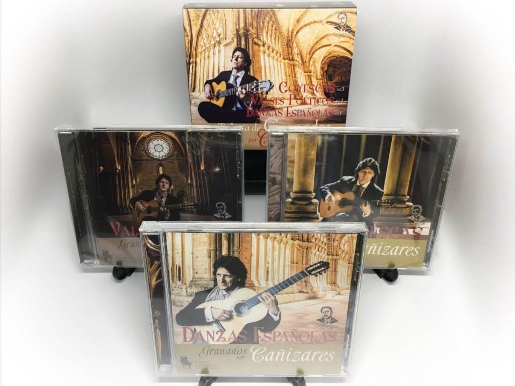 CD Trilogía de Granados por Cañizares