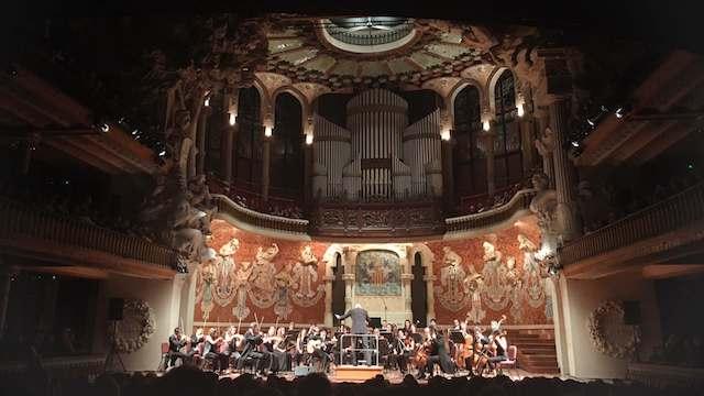 Concierto Palau de la Música Catalana