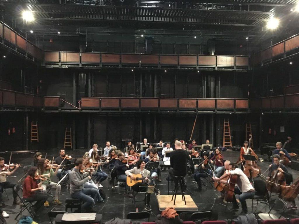 Primer ensayo Orquesta de Cadaqués