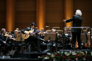 Cañizares guitar, Orchestral Repertories