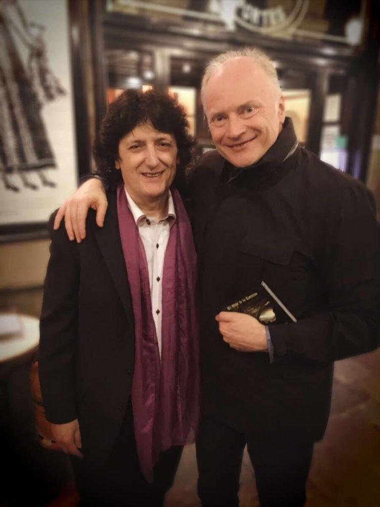 El Maestro Noseda y el guitarrita Cañizares