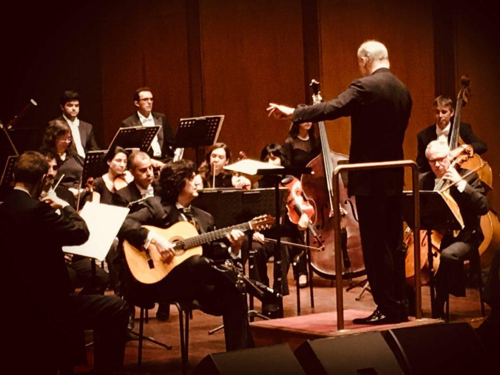 Cañizares con el Maestro Gianandrea Noseda y la Orquesta de Cadaqués