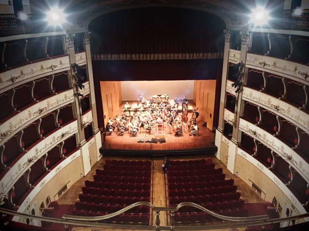 Cañizares actúa en el Teatro Manzoni