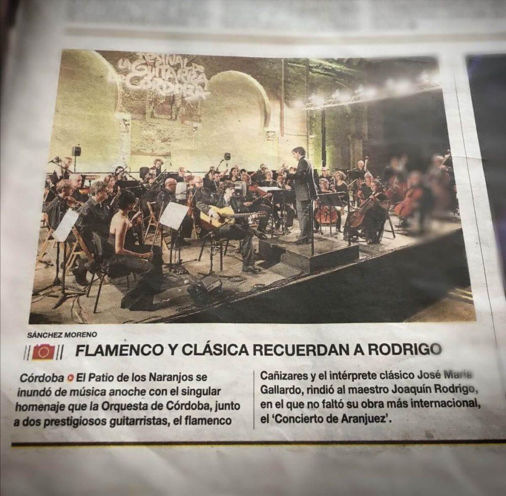 Flamenco y clásica recuerdan a Rodrigo