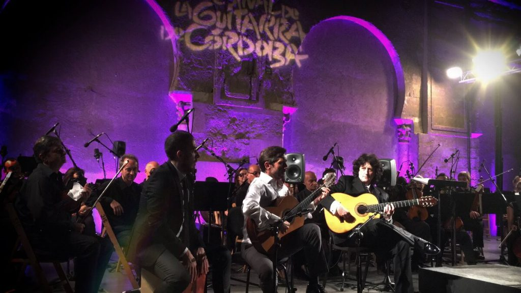 Cañizares, José María Gallardo del Rey y Roberto Vozmediano