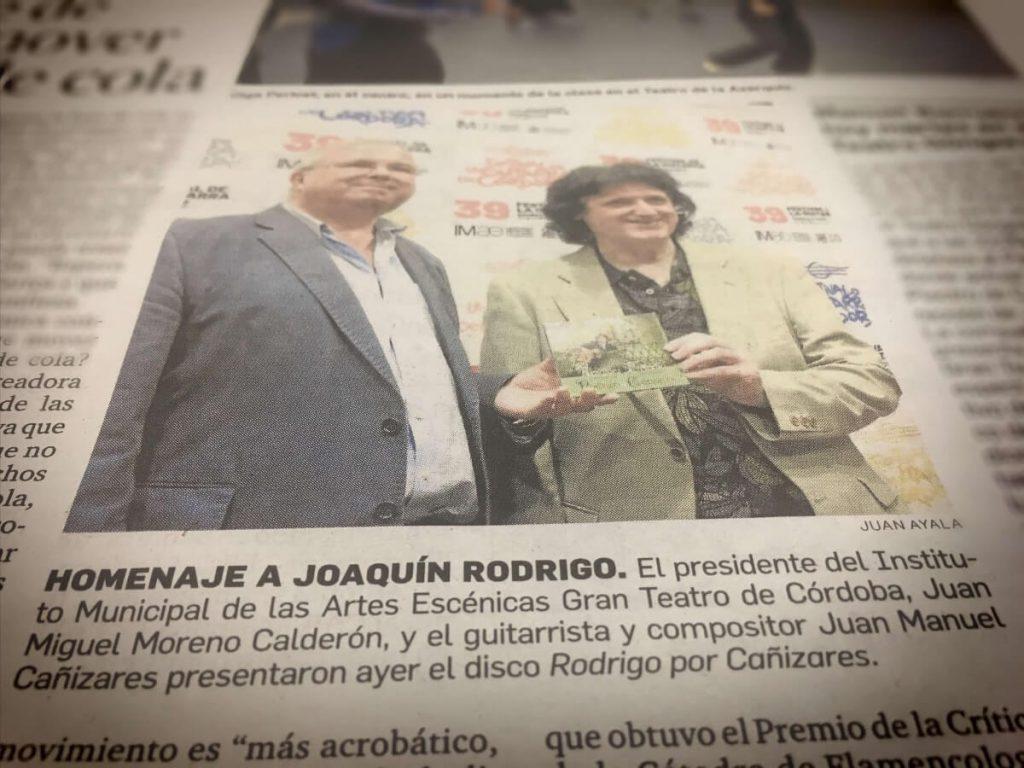 Homenaje a Joaquín Rodrigo 20 aniversario