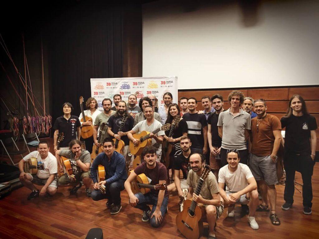 Master Class de Cañizares guitarra en Córdoba