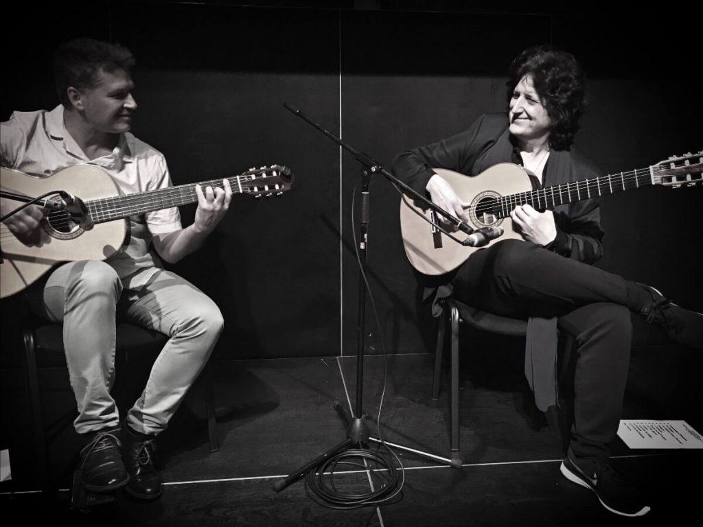 Dúo Guitarra Juan Carlos Gómez y Cañizares