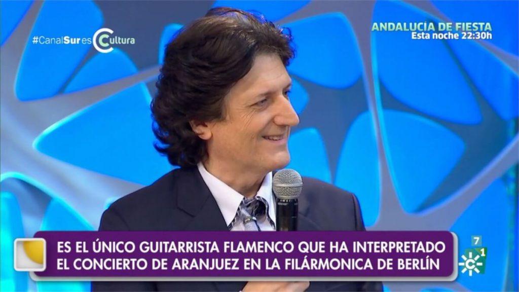 Canal Sur TV entrevista a Cañizares