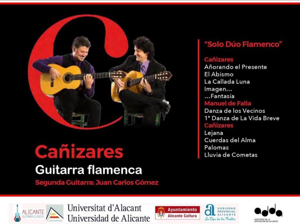 Solo Dúo Flamenco - Cañizares guitarra