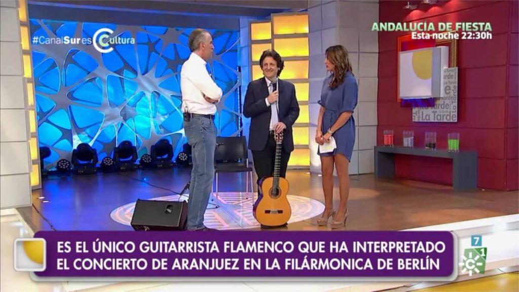 Cañizares y Juan y Medio en Canal Sur TV