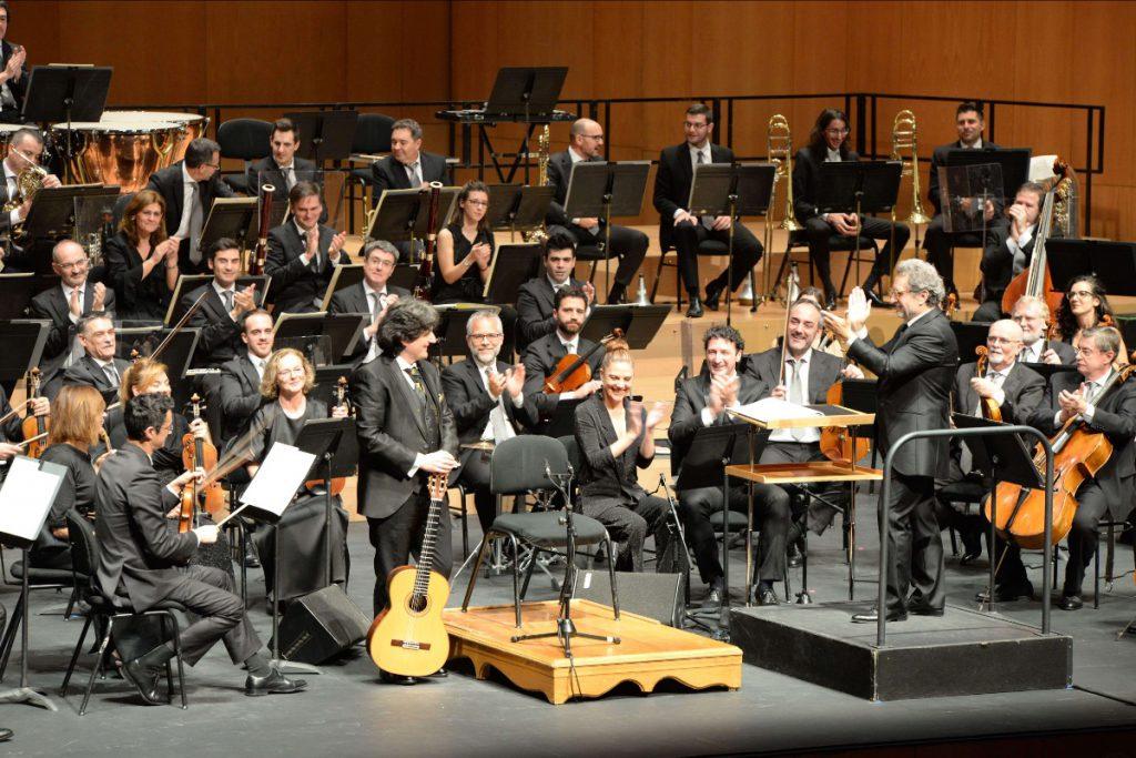 Concierto Al-Andalus Canizares, OSN y Josep Pons