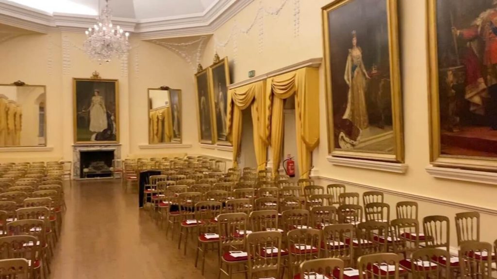 Sala de conciertos del Convento de Gibraltar