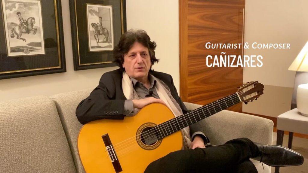 El guitarrista y Compositor Cañizares
