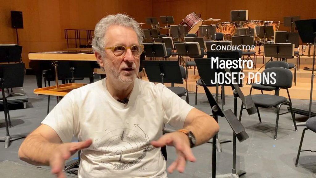 EL Maestro Josep Pons